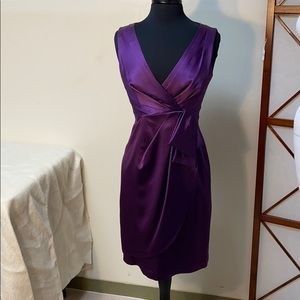 Nanette Lepore purple midi dress